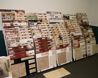 Complete selection of floor and wall tile and stone from many manufacturers