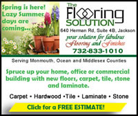 Freshen up your home, office or commercial building for Spring! The Flooring Solution. Your solution for Fabulous Flooring and Finishes