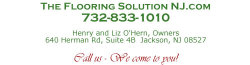 The Flooring Solution - Call Us. We come to you!